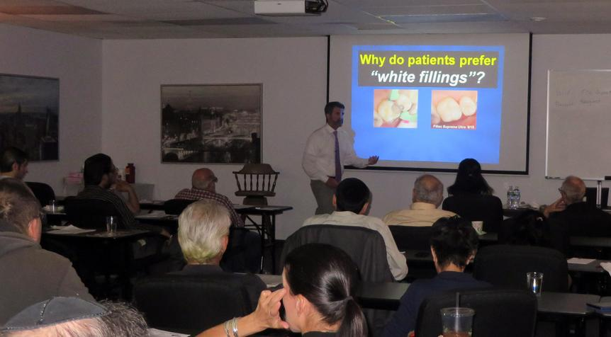 Dr. Gary Alex lecturing