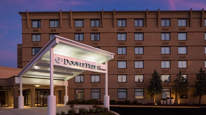 MD DoubleTree Hotel Exterior